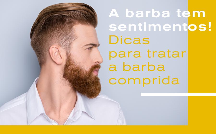 A Barba tem Sentimentos! Dicas para tratar a barba comprida. image