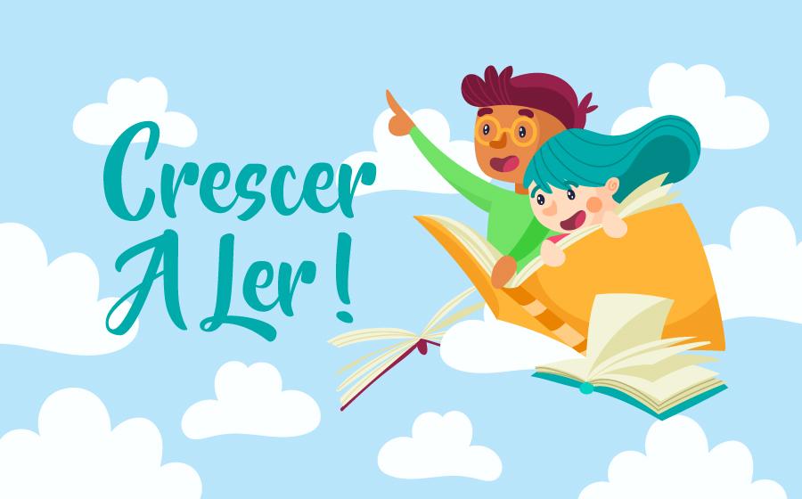 Crescer a Ler! Ofereça livros no Dia Mundial da Criança. image