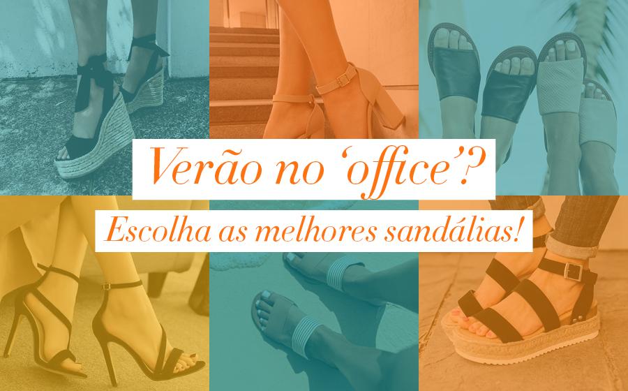 Verão no 'office'? Escolha as melhores sandálias!   image