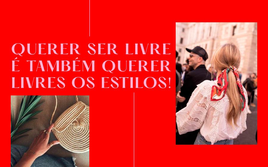 QUERER SER LIVRE É TAMBÉM QUERER LIVRES OS ESTILOS! image