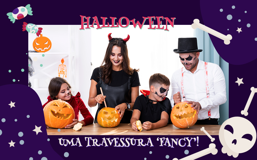 HALLOWEEN: UMA TRAVESSURA 'FANCY'! image