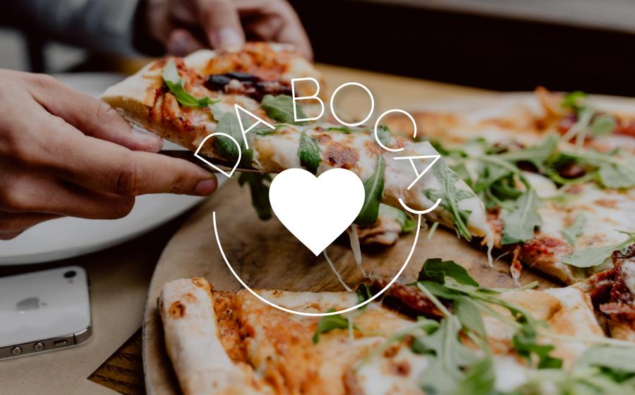 Da Boca Coração: Pizza, com conta, peso e medida! image