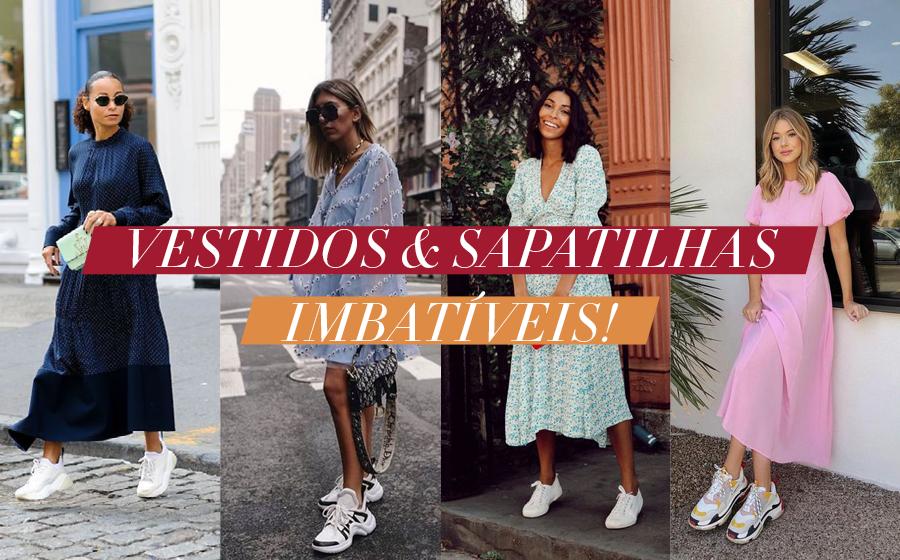 Vestidos & Sapatilhas: Imbatíveis! image