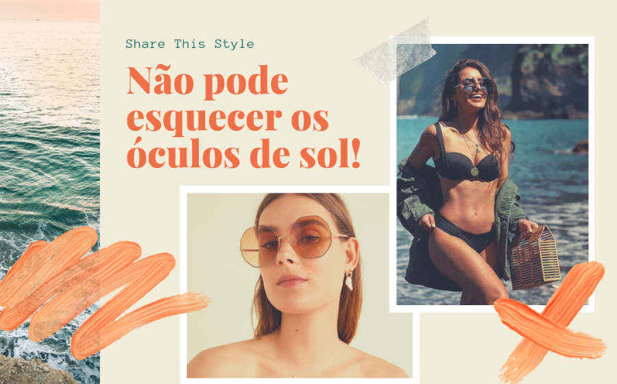 Share This Style | Não pode esquecer os óculos de sol! image