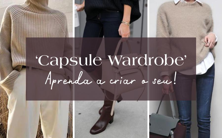 'Capsule Wardrobe': Aprenda a criar o seu! image