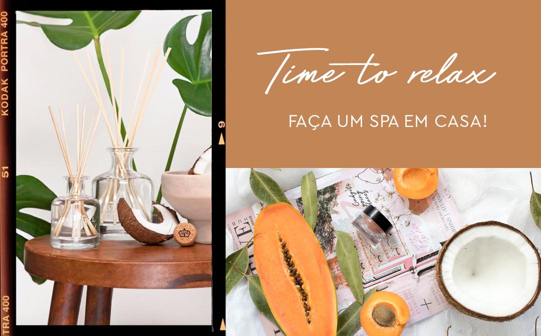 Time to Relax: Faça um Spa em casa! image
