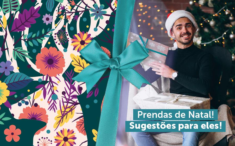 Prendas de Natal: Sugestões para eles! image