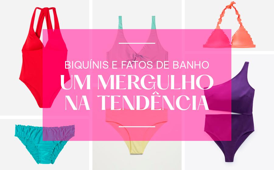 BIQUÍNIS E FATOS DE BANHO: UM MERGULHO NA TENDÊNCIA. image