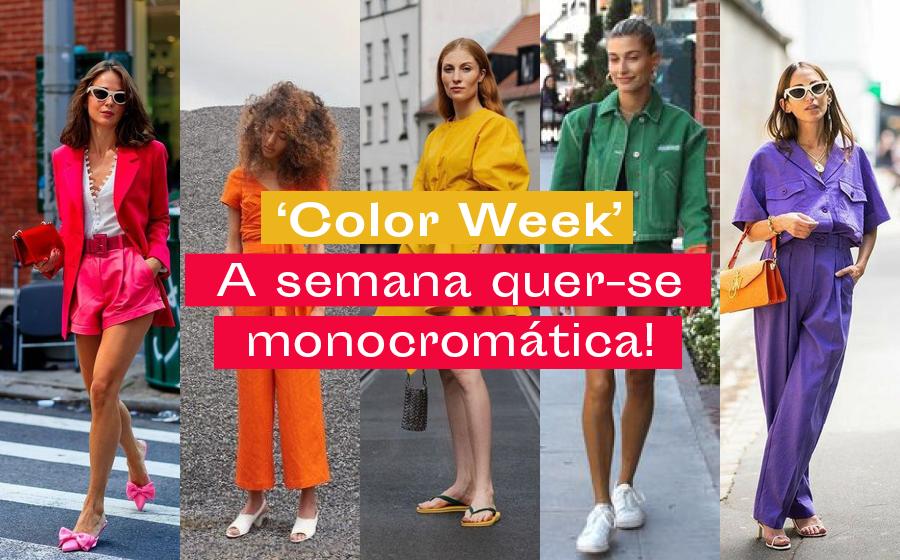 'Color Week': A semana quer-se monocromática! image